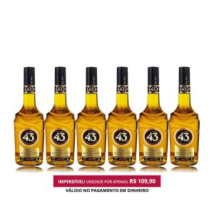 Licor 43 - 700ml - 1 Cx. / 6 Unid.