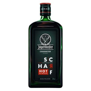 Licor Jagermeister Scharf Hot Ginger - 700ml