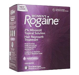 Rogaine Extra Strength 2% Minoxidil / Liquido / 3 Meses / Para Mulheres/ POUCAS UNIDADES / PRONTA ENTREGA