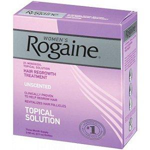 Rogaine Hair Regroeth Treatment 2% Minoxidil / Liquido / 3 Meses / Para Mulheres/ POUCAS UNIDADES / PRONTA ENTREGA