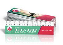 Marcadores de Página - Tamanho 22,5x5cm - Papel Couchê 250g - Verniz Total - Colorido