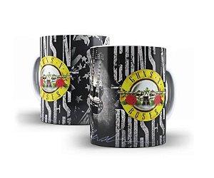 1 Caneca em Porcelana Guns N' Roses