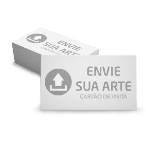 1.000 Cartão de Visita - Envie Sua Arte - Tamanho 9x5cm - Frente e Verso - Papel Couchê 250g - Verniz Total Frente