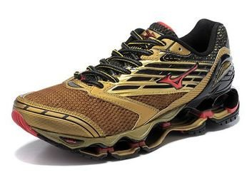 Mizuno Wave Prophecy 5 Dourado db968bed61091