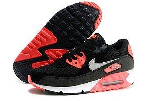 Nike Air Max 90 preto e Laranja