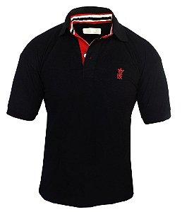 Camisa Polo Sergio K Preta