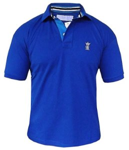 Camisa Polo Sergio K Azul royal