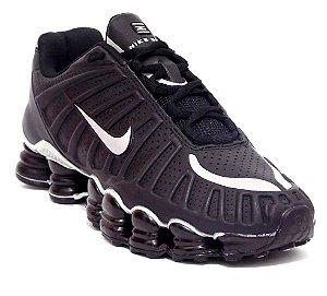 Nike Shox TLX 12 molas - Preto / Branco
