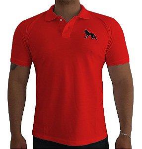 Camisa Polo Acostamento vermelha