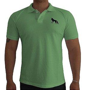 Camisa Polo Acostamento verde