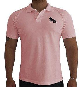 Camisa Polo Acostamento rosa