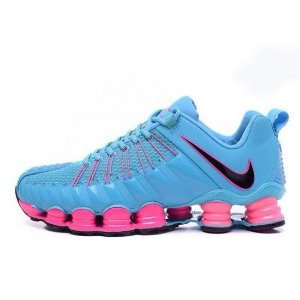 Nike Total Shox Azul e Rosa