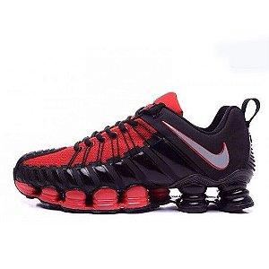 Nike Total Shox Preto e Vermelho