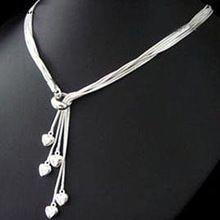 colar joia em prata esterlina 925