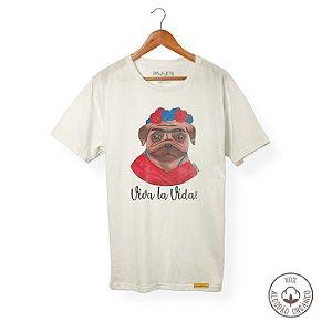 Camiseta Algodão Orgânico Frida
