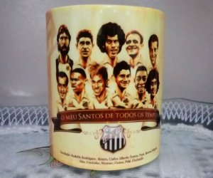 Caneca Personalizada Santos FC
