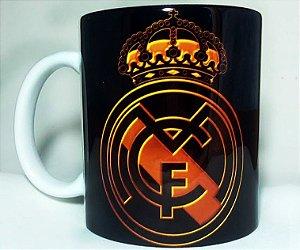 Caneca Real Madrid Símbolo + Nome Personalizado