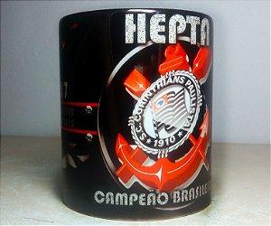 Caneca Corinthians Heptacampeão Brasileiro 2017