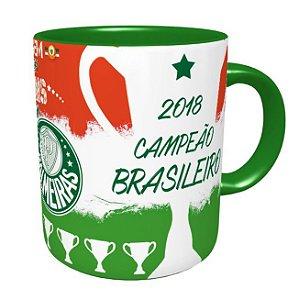 Caneca Palmeiras Quem Tem Mais Tem 10 - Decacampeão 2018