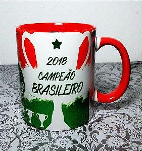 Caneca Palmeiras DecaCampeão Brasileiro - 2018