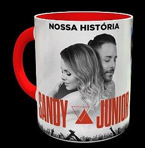Caneca Sandy E Junior Nossa História
