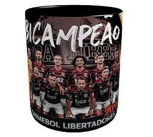Caneca Bicampeão Libertadores 2019 Flamengo