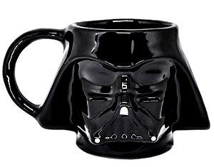Caneca Darth Vader - Caneca Porcelana 3D - Star Wars