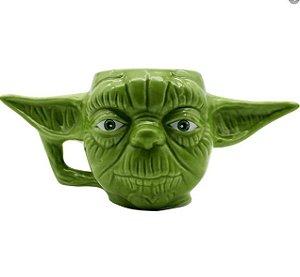 Caneca Mestre Yoda 3D - Caneca Star Wars