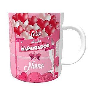 Caneca Dia dos Namorados com Nome Personalizado