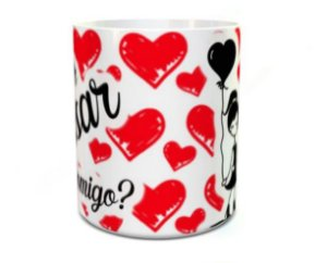 Caneca Dia dos Namorados - Quer casar comigo?