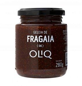Geleia de Fragaia 280g - Oliq