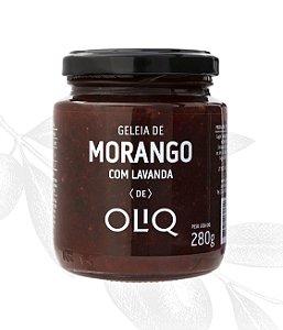 Geleia de Morango com Lavanda 280g - Oliq