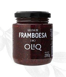 Geleia de Framboesa 280g - Oliq