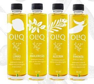 Azeites de Oliva Aromatizados 50ml - Oliq