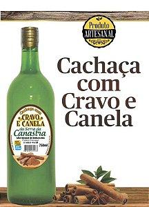 Cachaça de Cravo e Canela - Sabores da Canastra 750ml