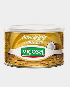 Doce de Leite Cremoso com Coco - Viçosa (LATA) 0,400kg