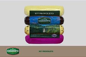Kit Provoleto (Lombo Canadense, Defumado, Reino e Temperado) - Império da Canastra