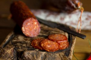 Salame tipo Chorizo Cantimpalo (Fatiado) - Pirineus