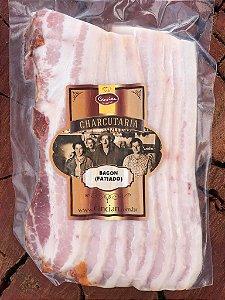 Bacon Defumado (Fatiado) - Frigorífico Cancian