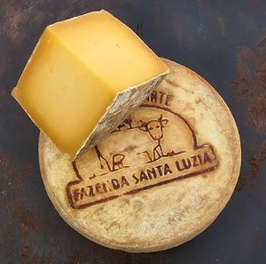 Queijo Braukäse - Fazenda Santa Luzia