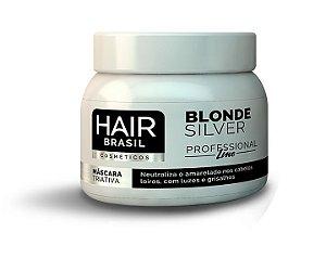 Máscara Matizadora Hair Brasil Cosméticos 250g - Blonde Silver