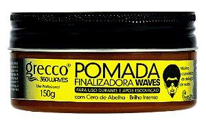 Pomada Finalizadora Waves Grecco 360waves 150g