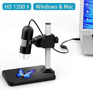 Microscópio Digital de Inspeção de Zoom Mini 5X