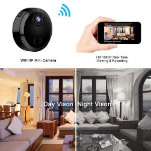 Mini Wifi IP Câmera HD 1080P Infravermelho Night Vision Micro Network Camcorder