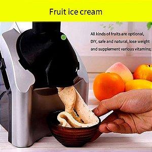 Máquina De Sorvete De Frutas Elétrica Doméstica
