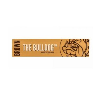 SEDA THE BULLDOG BROWN (UNBLEACHED) SLIM KING SIZE UNIDADE