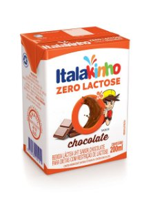 Bebida Láctea Italac Chocolate Zero Lactose 200ml