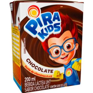 Bebida Láctea Pirakids Chocolate 200ml
