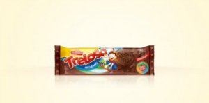 Biscoito Vitarella Treloso Recheado de Chocolate 60g