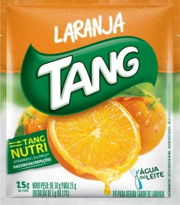 Refresco em pó Tang Laranja 25g